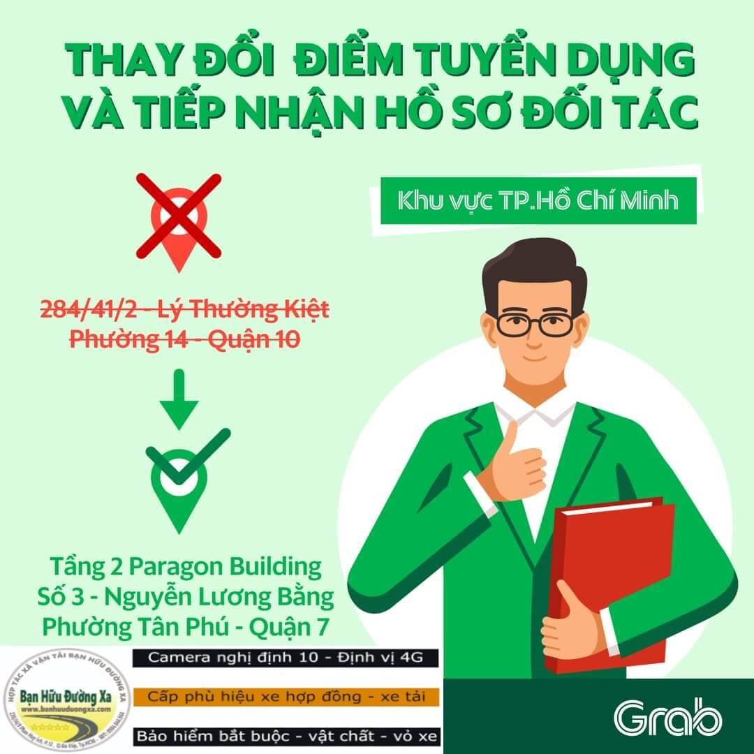 Địa chỉ Grabcar 3 Nguyễn Lương Bằng Quận 7 TPHCM