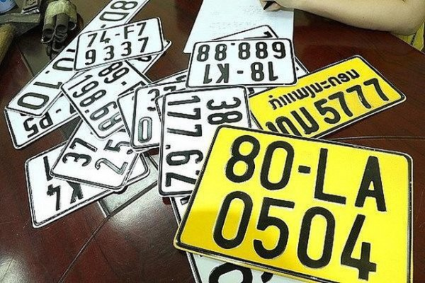 Thời gian Chi phí và hồ sơ mang theo gì đổi biển số màu vàng ở Phòng CSGT tỉnh thành phố